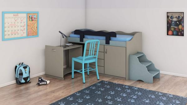 מיטת קומותיים ר דגם אביטל