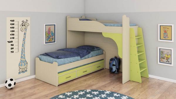 מיטת קומותיים ר דגם חלומית 6