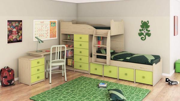 מיטת קומותיים ר דגם חלומית 4