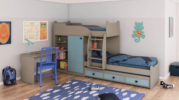 מיטת קומותיים ר דגם חלומית 3