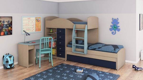 מיטות קומותיים ר דגם חלומית 1 דוגמא 1