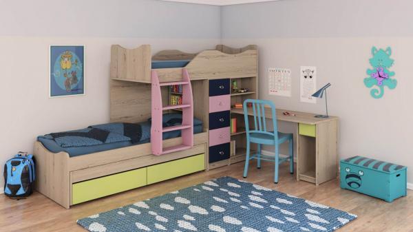 מיטות קומותיים ר דגם חלומית 1 דוגמא 2
