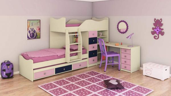 מיטות קומותיים ר דגם חלומית 1 דוגמא 3