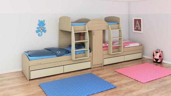 מיטות קומותיים דגם חלומית 7
