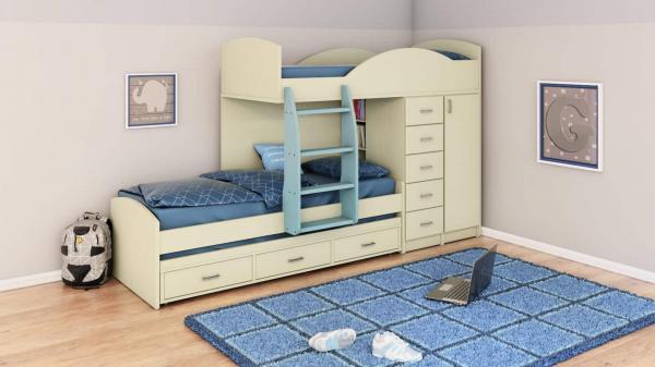 מיטות קומותיים דגם A253