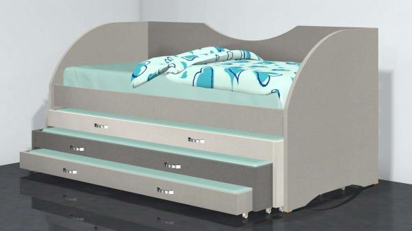 מיטה משולשת דגם 282