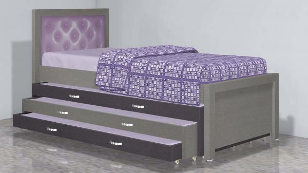 מיטה משולשת דגם 332-2