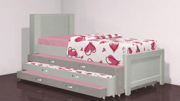 מיטה משולשת דגם 366